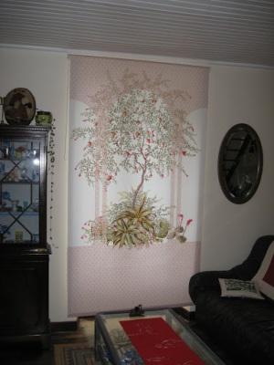 un autre store enrouleur dans la maison cr ativit s manuelles. Black Bedroom Furniture Sets. Home Design Ideas