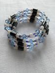 collier-bracelet perles aimantées